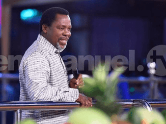Prophet T.B Joshua Word Today 15th April