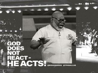 Bishop TD Jakes' Word Today 30th April