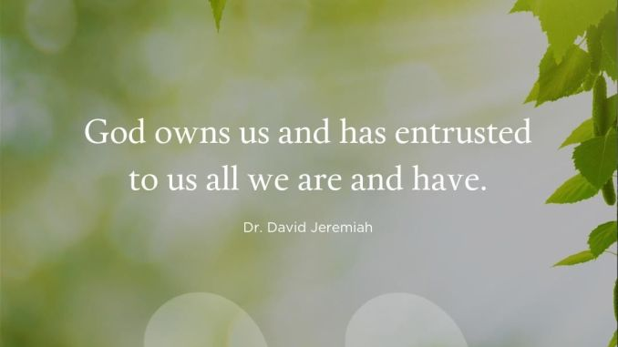 David Jeremiah Devotional 21st May