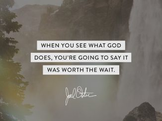 Joel Osteen Devotional 25 July 2019