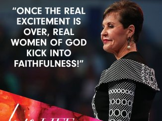 Joyce Meyer Devotional 26 October 2019