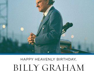 Billy Graham Devotional 17th November 2019