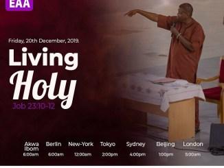 Open Heavens Devotional 20th December 2019