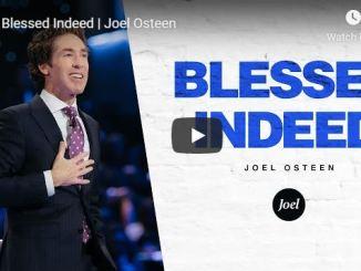 Joel Osteen sermon - Blessed