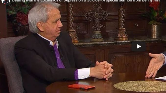 Benny Hinn Sermon - Dealing with Depression & Suicide