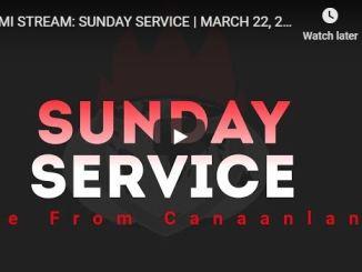 David Oyedepo Live Sunday Service 22 March 2020