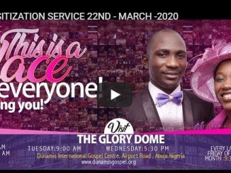 Dunamis Church Live Service 22 March 2020