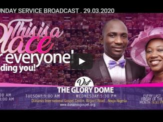 Dunamis Church Online Live Service 29 March 2020