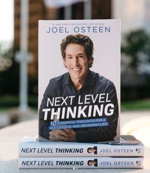 Joel Osteen book - Next Level Thinking