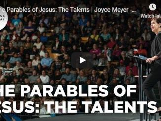 Joyce Meyer Sermon - Parables