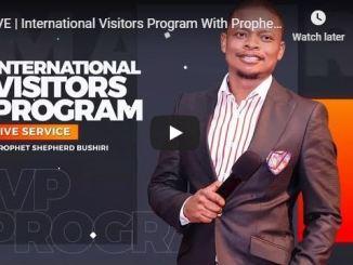 Shepherd Bushiri International Visitors Program