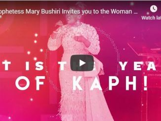 Mary Bushiri Woman On Fire Entrepreneurship Workshop