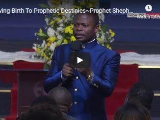 Shepherd Bushiri Sermon - Giving Birth To Prophetic Destinies