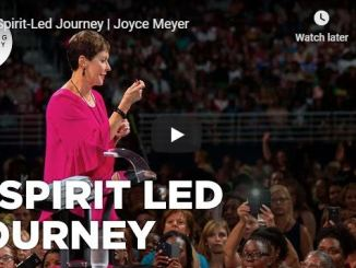 Joyce Meyer Sermon - A Spirit-Led Journey