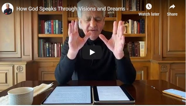 Benny Hinn Sermon - How God Speaks Through Visions and Dreams