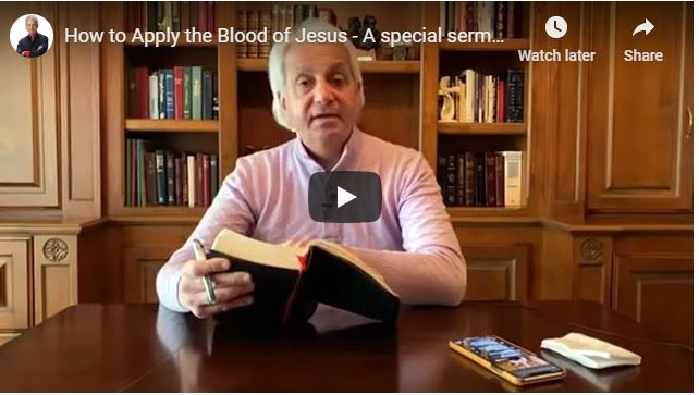 Benny Hinn Sermon - How to Apply the Blood of Jesus
