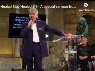 Benny Hinn Sermon - Be Healed Stay Healed