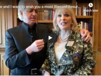 Benny Hinn and Suzanne Hinn Wish Us A Blessed Easter Day
