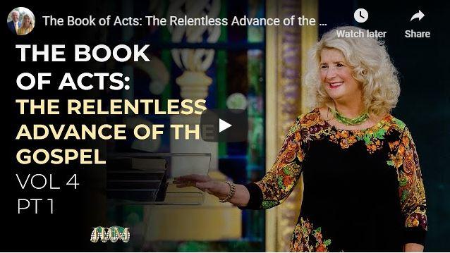 Cathy Duplantis Sermon - The Relentless Advance of the Gospel Vol 4