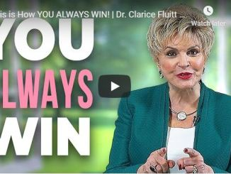 Clarice Fluitt Message - This is How You Always Win