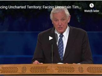 David Jeremiah Sermon - Facing Uncharted Territory - April 28 2020