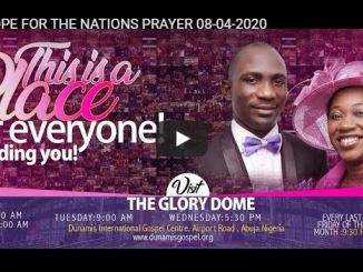 Hope For Nations Prayer With Paul Enenche April 8 2020