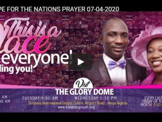 Dunamis Church - Hope For The Nations Prayer