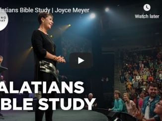 Enjoying Everyday Life With Joyce Meyer - Galatians Bible Study