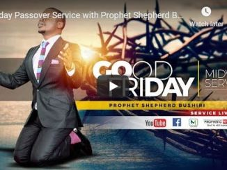 Good Friday Service With Prophet Shepherd Bushiri