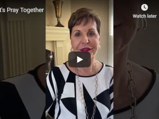 Joyce Meyer Message - Let's Pray Together