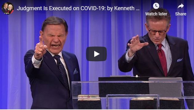 Kenneth Copeland Judgement Coronavirus Covid-19