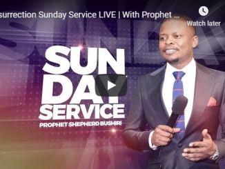Live Resurrection Sunday Service With Prophet Shepherd Bushiri