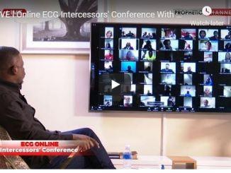 Online ECG Intercessors Conference With Prophet Shepherd Bushiri