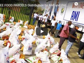 Pastor Alph Lukau Distributes Food During Coronavirus Lockdown