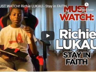 Richie Lukau Sermon - Stay in FAITH