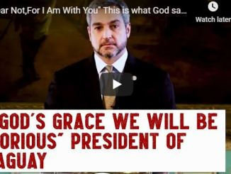 President of the Republic of Paraguay Mario Abdo Turns To God For Help