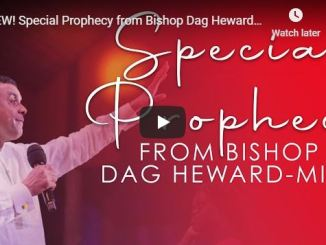 Prophecy From Bishop Dag Heward-Mills