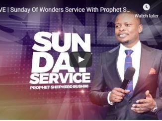 Prophet Shepherd Bushiri Sunday Live Service
