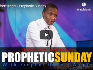 Prophet Uebert Angel Prophetic Sunday