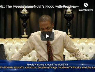 Prophet Uebert Angel Sermon - The Flood Before Noah's Flood