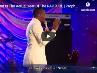 Prophet Uebert Angel Sermon - What Is The Actual Year Of The Rapture
