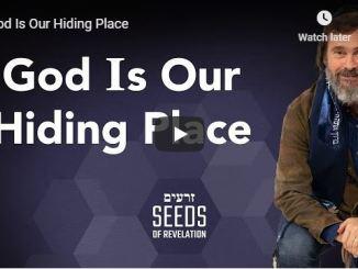Rabbi Schneider Sermon - God Is Our Hiding Place