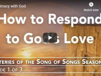 Rabbi Schneider Sermon - Intimacy with God