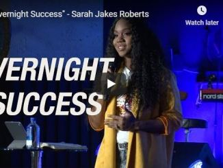 Sarah Jakes Roberts Message - Overnight Success