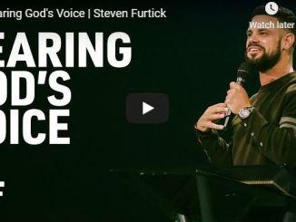 Steven Furtick Sermon - Hearing God Voice
