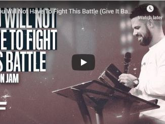 Steven Furtick Sermon - You Will Not Have To Fight This Battle