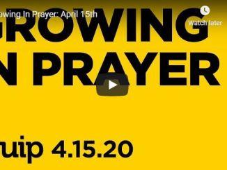 Trinity Church Cedar Hill - Growing In Prayer - April 15