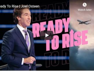 Joel Osteen Sermon - Ready To Rise - May 17 2020