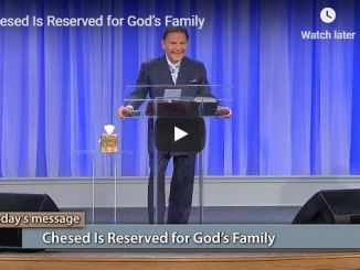 Kenneth Copeland - Chesed Is Reserved for God's Family - May 24 2020