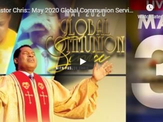 Pastor Chris Sunday Live Service In LoveWorld Church 2020